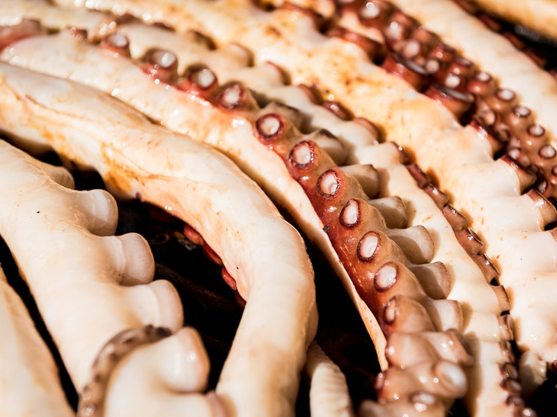Street Eats @ Franko - Bass Strait octopus