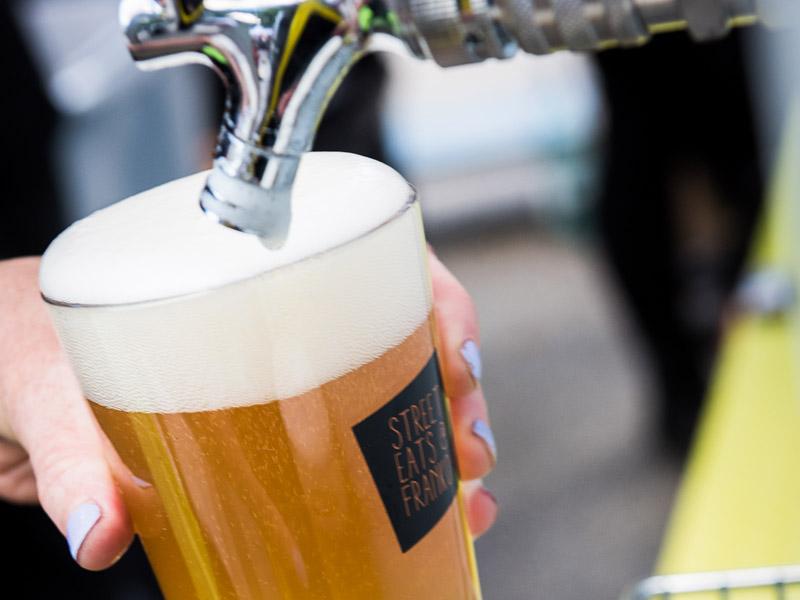 Street Eats @ Franko - Bruny Island Beer Farm Ale