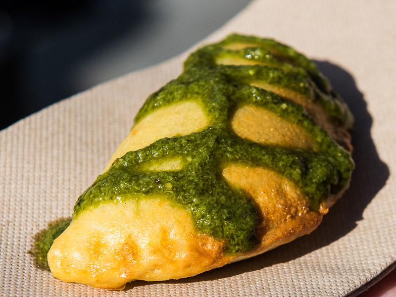 Street Eats @ Franko - Senor Frijoles empanade