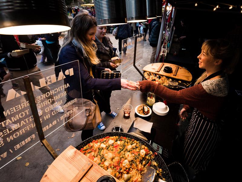 Street Eats @ Franko - Urban Bounty paella