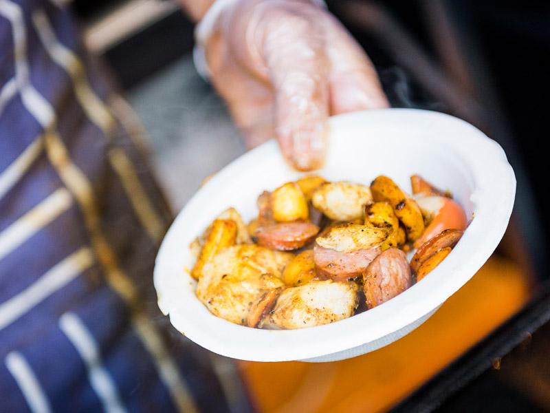 Street Eats @ Franko - Wild Thyme Tassie scallops