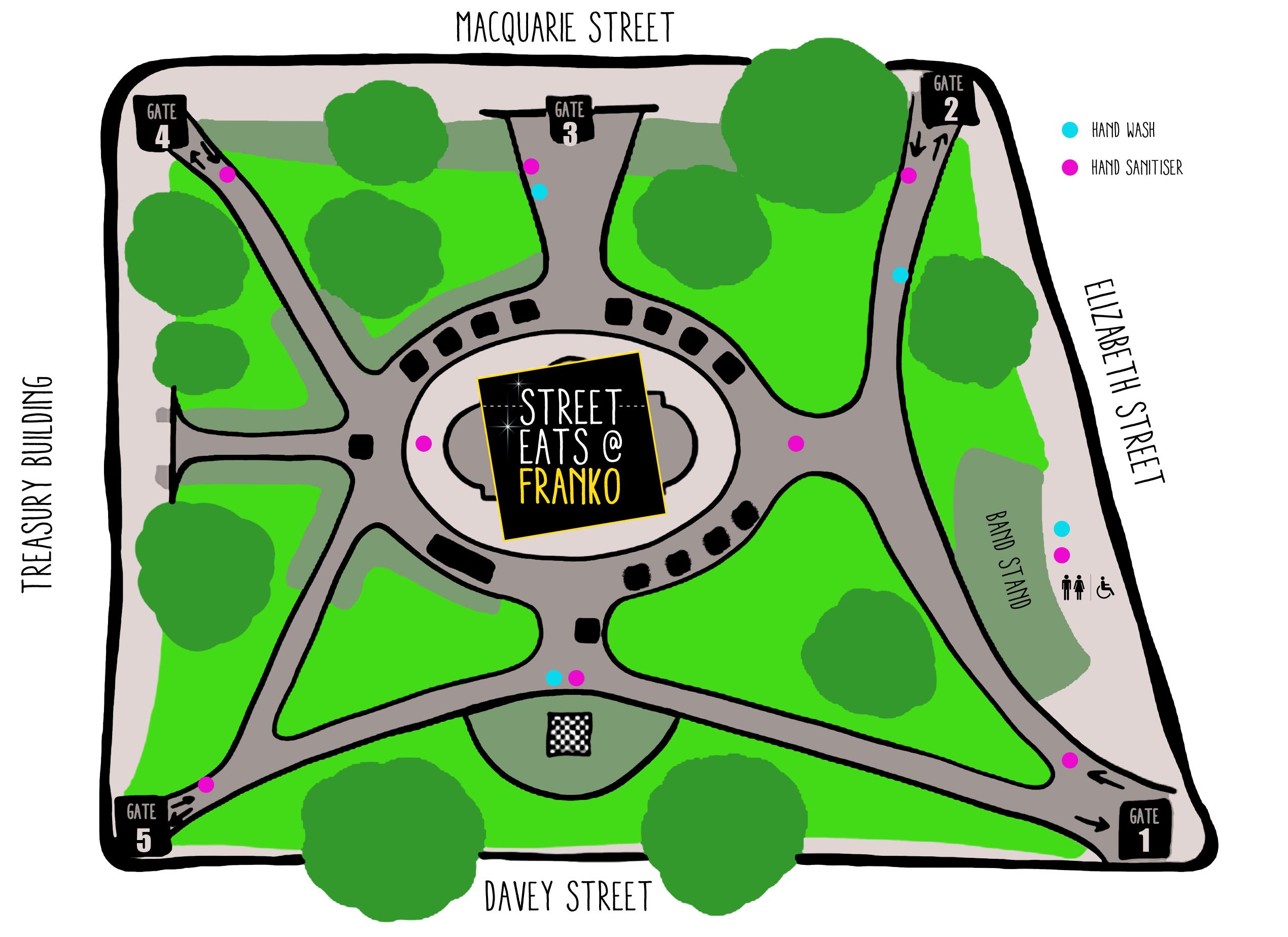 Street Eats Map